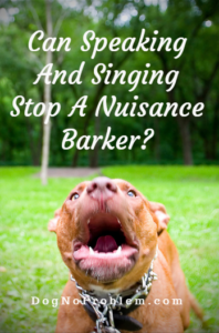 Stop A Barking dog
